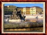 Schoenbrunne Palace In The Morning, Vienna, Austria
