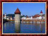 That Infamous Bridge In Lucerne, Switzerland