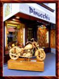 Wooden Craft Pinocchio Shop, Vienna, Austria