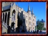 Inner Court Of Hohenzollern Castle, Germany