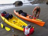 Pablo Prepares Light Snack, Pacific Coastline