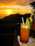 Tequila Sunrise With Pacific Sunset
