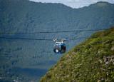 Gondola over the mountain, Hakone