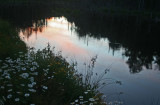 Subtle Sunset Reflection North Fork Headwaters tb0811fpx.jpg