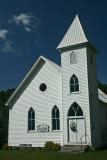 Big Springs Church Scene Blue Sky Day v tb0811her.jpg