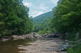Dog Days Williams River Low Water Scene tb0911mgr.jpg