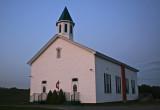 Late Evening Edray Methodist Church tb0911mex.jpg