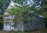 Forgotten Rural Church Fading into Woodland tb0911mbr.jpg