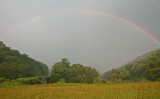 Subtle Rainbow at Scenic Highway Williams River Intersect tb0512uxr.jpg