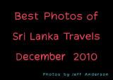 Best Photos of Sri Lanka Travels (December 2010)