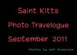 Saint Kitts Photo Travelogue (September 2011)