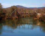 Old railroad bridge in Paint Rock, Alabama.JPG