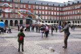 bubbles-Plaza Mayor-Madrid