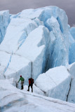 ice climbers-Matanuska Glacier