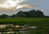 SUNSET AT NINH BINH