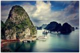 VIETNAM : 36 vues de la Baie d'Halong.
