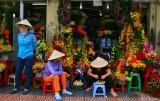 Saigon flowers street