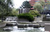 Levi Plaza fountain 05