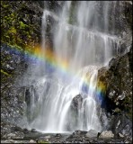 Bridal Veil rainbow