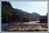 Long Lake,  Squirrel Tail Barley & Godbeams