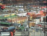 911 Memorial under construction