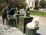 Two philosophers and a Lhasa at Hofstra University