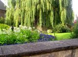 Christ Church garden in Oxford