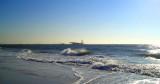 Rough surf at Overlook Beach