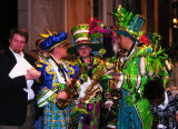 Mummers getting ready to rumble