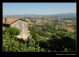 View from Todi, Umbria, Italy