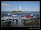 St Mary's Island & Lighthouse, Whitley Bay, Tyne & Wear