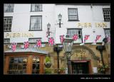 Pier Inn & Jubilee Bunting, Whitby, North Yorkshire