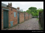Pit Cottage Alley, Beamish Living Museum
