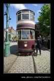 Electric Tram & Guard, Beamish Living Museum