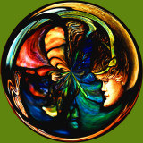 Stained Glass Circle