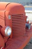 An ancient International truck
