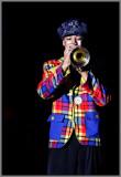 Le clown à la trompette