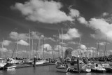 Clouds_ breskens harbour