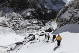 Climbing Cho La