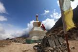 Stupa renovations
