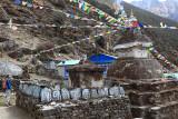 Stupa near Thamo