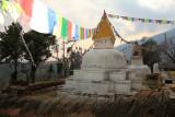 Stupa at Bhandar
