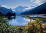 Prés lacs et montagnes/Meadows Lakes and Mountains P.Brunet