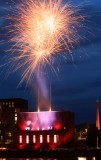 Tampere. Light and Fire Musical