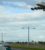 A380 arrives in Cape Town 28-June -2011