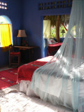 Be sure to use the mosquito nets at night!