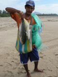 Fishing is a way of life on the coast