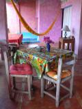 We spent our first five nights at Casa del Encanto in Barra de Potosí