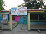 The school in Barra de Potosi