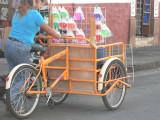 Bikes were a good way to peddle goods